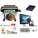 "Education Work Station 36"" Poster/Banner Printing System"