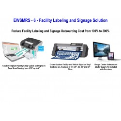 EWSMRS - 6 - Facility Labeling and Signage Solution