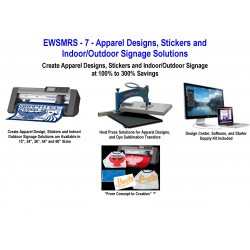 EWSMRS - 7 - Apparel Design, Stickers and Indoor/Outdoor Signage Solution