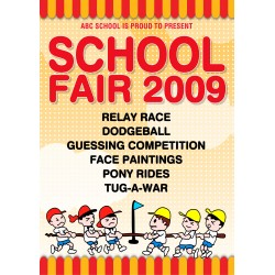 School Fair Poster Template