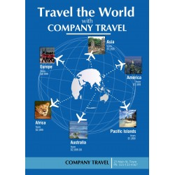 """Travel Poster 24"""" x 33"""" Poster Template"""
