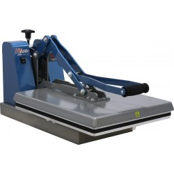 "HT-400P Manual Clam Shell Heat Press with Digital Display, Pressure Read Out and 15"" x 15"" Platen"