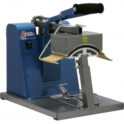 B-250D Manual Cap Press with Digital Display and Standard Gold Platen