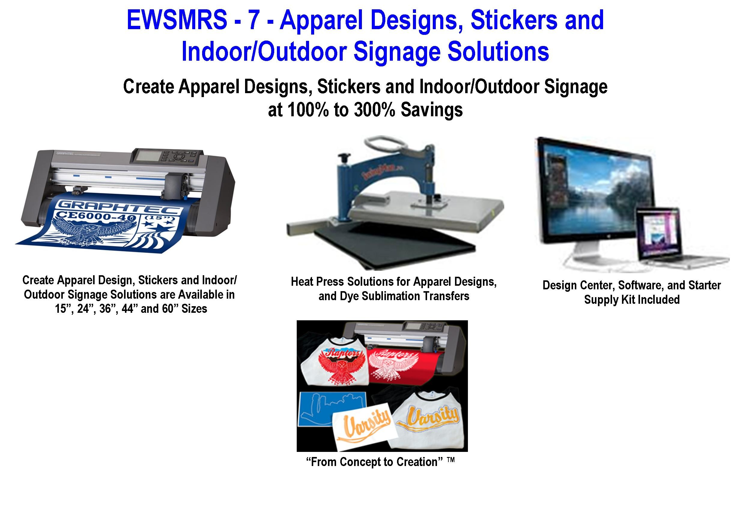 EWSMRS - 7 - Apparel Design , Stickers and Indoor/Outdoor Signage Solutions