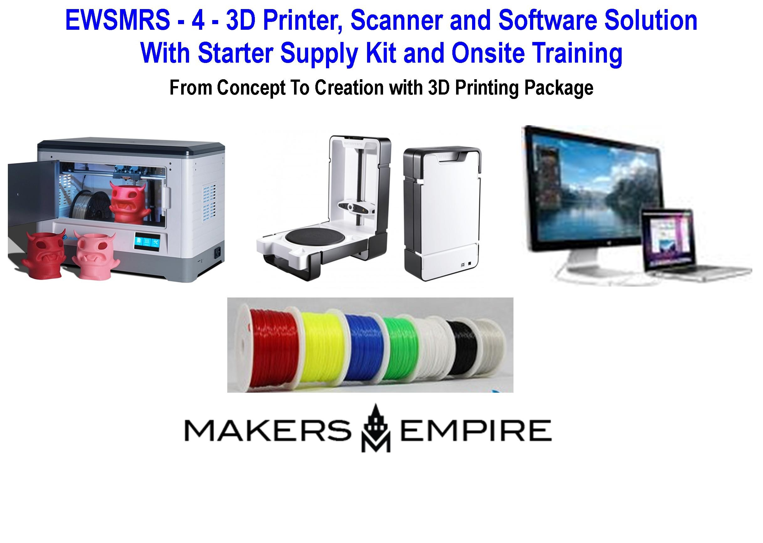 EWSMRS - 3D Printer/Scanner and Software Solution