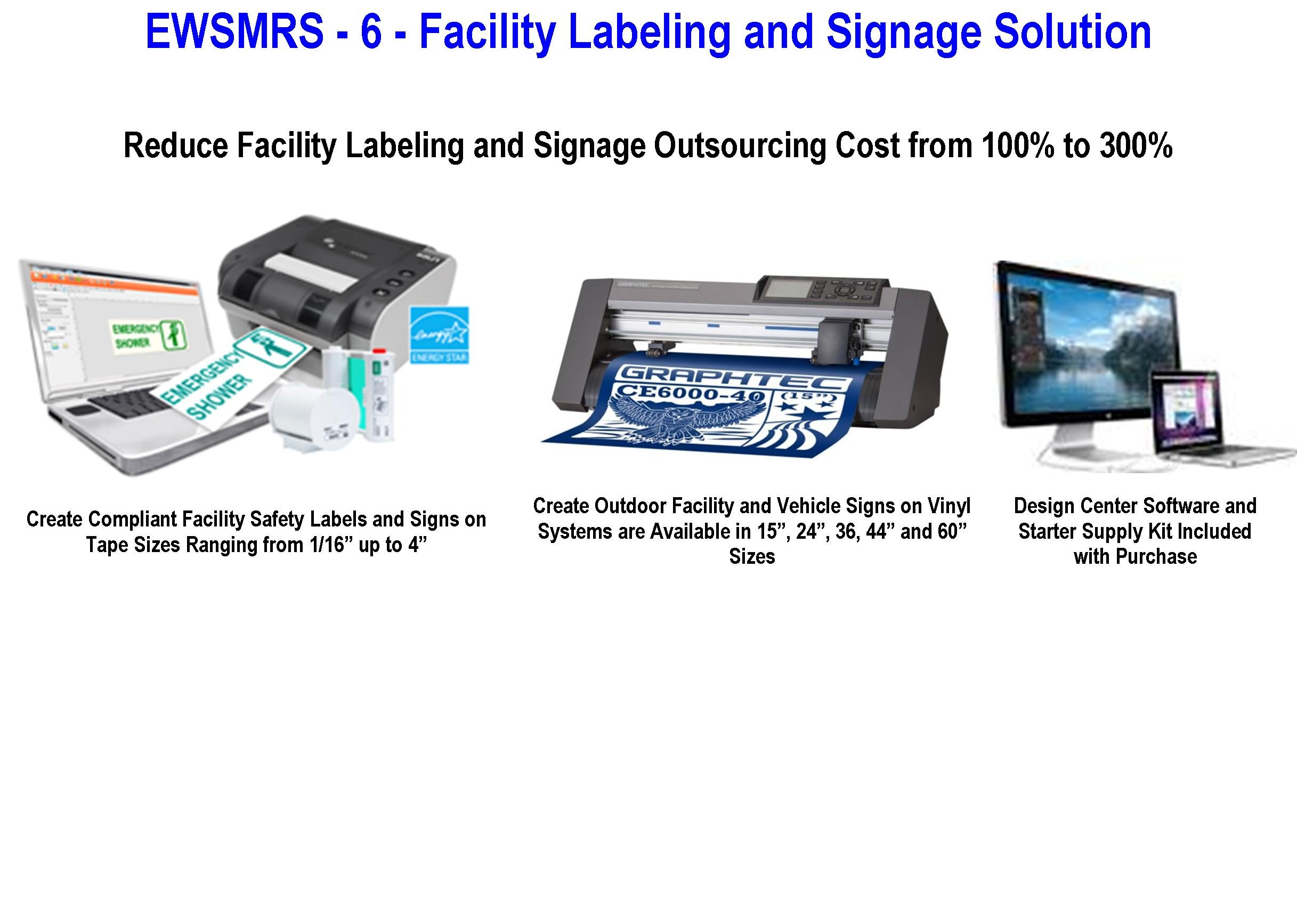 EWSMRS - 6 - Facility Labeling and Signage Solutions