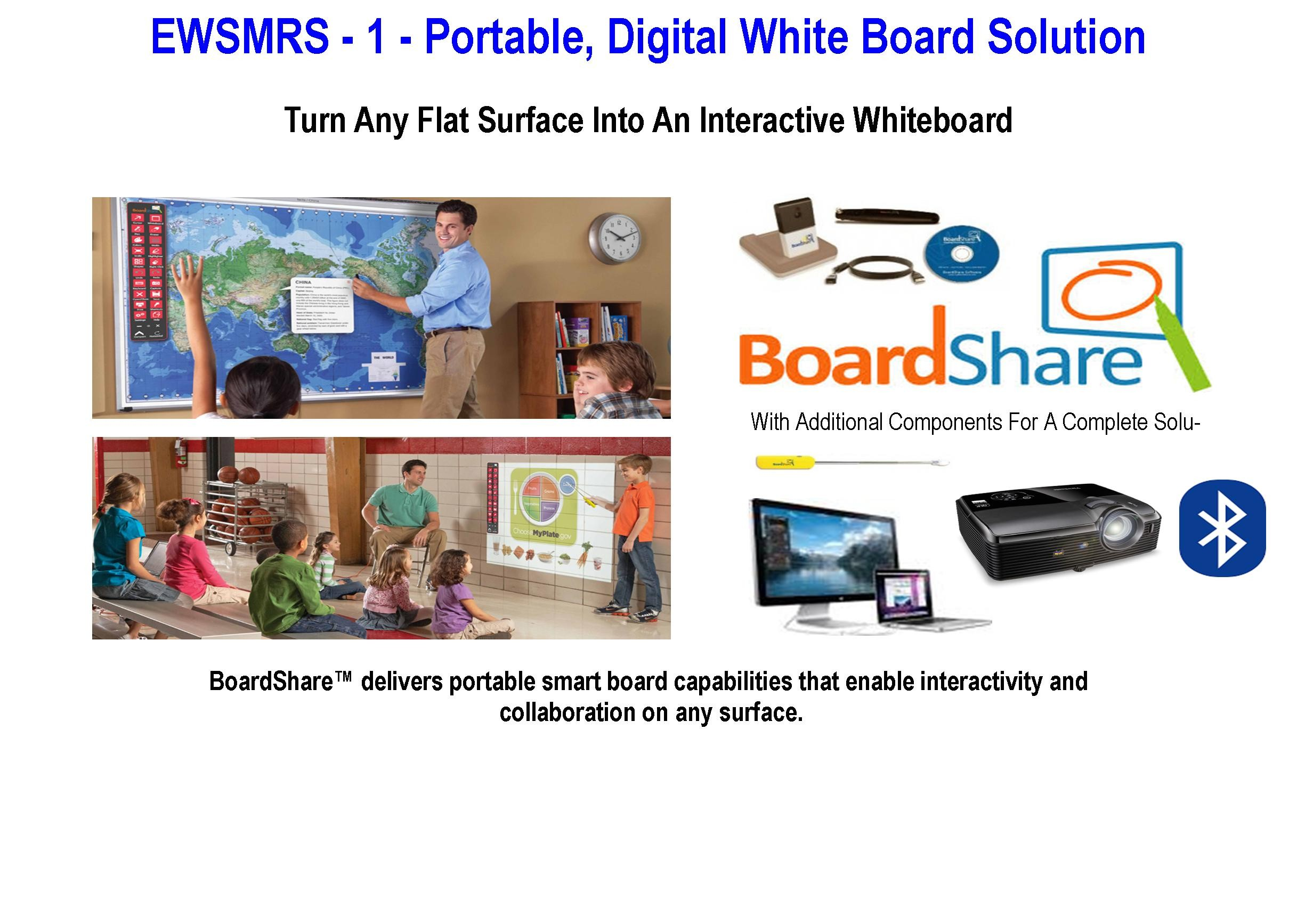 EWSMRS - 1 - Portable Digital White Board Solutions